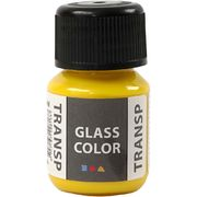 GlassColor Transparent -maali, sitruunankeltainen 35ml