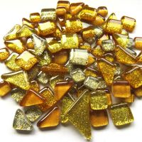 SoftGlass Glitter Kulta Mix, Gold Dust Mix